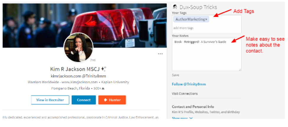 how to add twitter to linkedin app